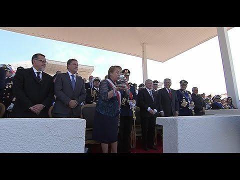 Chascarro Michelle Bachelet parada militar Chile 2016