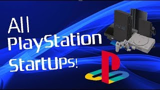 ALL SONY PLAYSTATION STARTUP SCREENS