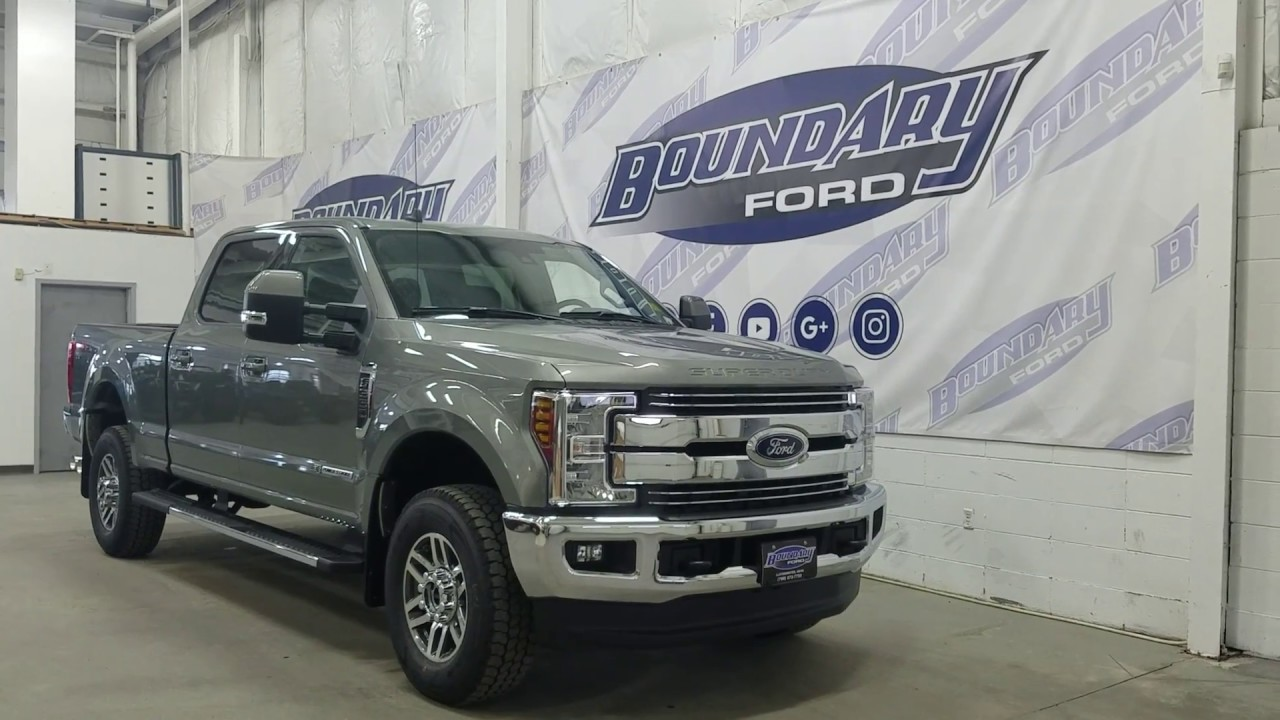 2019 Ford Super Duty F-350 SRW CrewCab Lariat W/ 6.7L ...