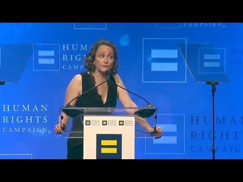 Nina Jacobson Receives The HRC Visibility Award