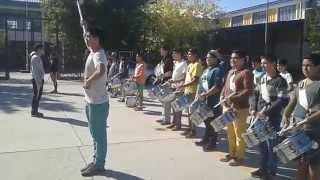 Himno Nacional de Chile - Banda Salesianos Talca (ensayo)