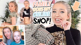 FAMILY DOES MY ONLINE SHOP... and now I'm a Fashion Queen? Motel Rocks 2019 ad