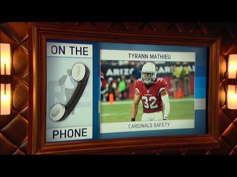 Cardinals Safety Tyrann Mathieu Talks Facing Cowboys on MNF & More - 9/19/7
