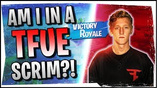 Hysteria | Fortnite | Accidentally Joined a Tfue Scrim and Won! - Duos with Roxy