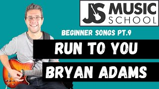 Run To You   Bryan Adams guitar lesson