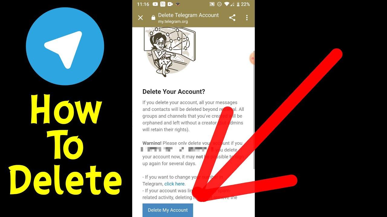 How to Delete Telegram Account 20