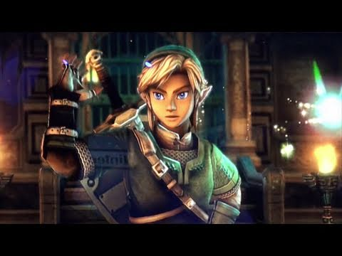 Legend Zelda Wii-U Tech Demo - Irate FX Edit - first look Review E3