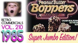 Retro Commercials Vol 210  SUPER JUMBO EDITION! (1985 HD)