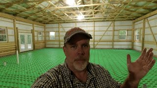 Save Thousands on Your Floor Heat System, DIY Rough In of Crete Heat Panels and PE RT