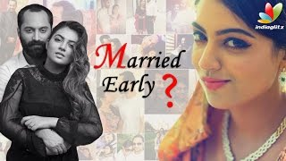 "Nazriya: ""I palnned to marry only at 25"" 