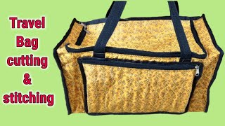 travel bag new design make at home/cutting and sewing/ 2018