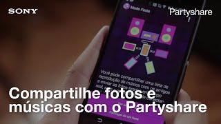 Baixar Partyshare (modo festa): aplicativo da Sony para compartilhar músicas e fotos com os amigos