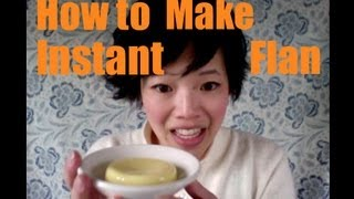 How to Make Instant Flan Mix