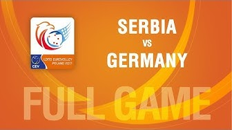Serbia vs Germany | SEMIFINALS | LOTTO EUROVOLLEY POLAND 2017