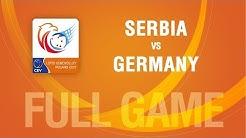 Serbia vs Germany   SEMIFINALS   LOTTO EUROVOLLEY POLAND 2017