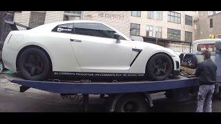Нам прислали Nissan GTR 1200 л.с.