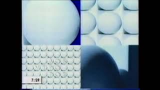 Заставка программы Доброе утро Первый канал 28 10 2002 27 08 2004