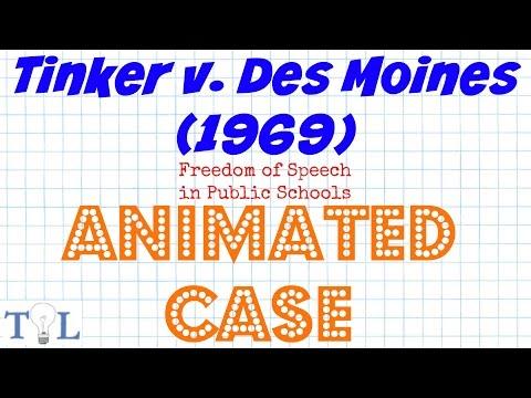 Tinker v  Des Moines - Landmark Cases - Episode # 4 - YouTube