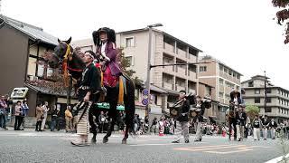 京都時代祭 20161022 明治維新時代 2:40 維新勤王隊列 4:45 維新志士列 ...