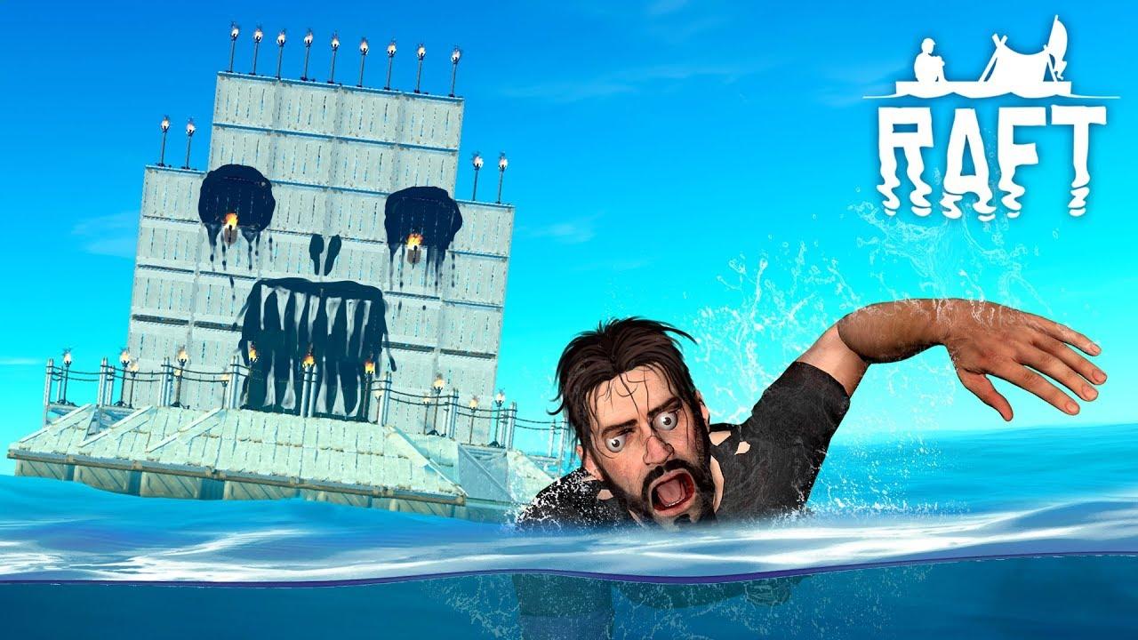 GEMİYLE KAÇMAK!  Denizde Survivor Raft #12