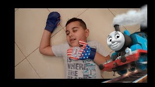 TOYS REVIEW , THOMAS TRAIN,POINT AND SHOOT , BOXING .FUN FOR KIDS. JUCARII PENTRU COPII,العاب اطفال