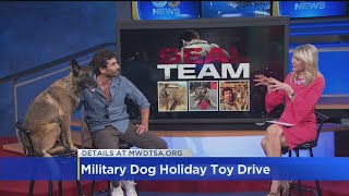 39SEAL Team39 Actor Justin Melnick Talks Military Dog Toy Drive