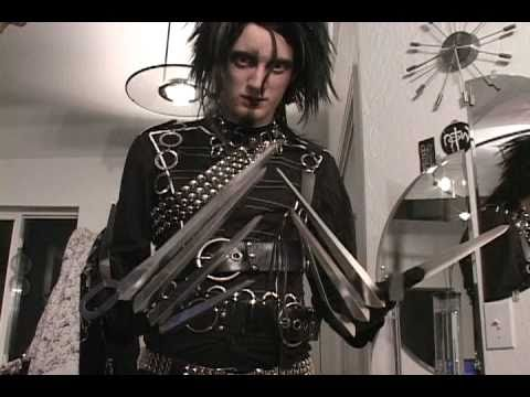 How to make a realistic costume... Edward Scissorhands ...