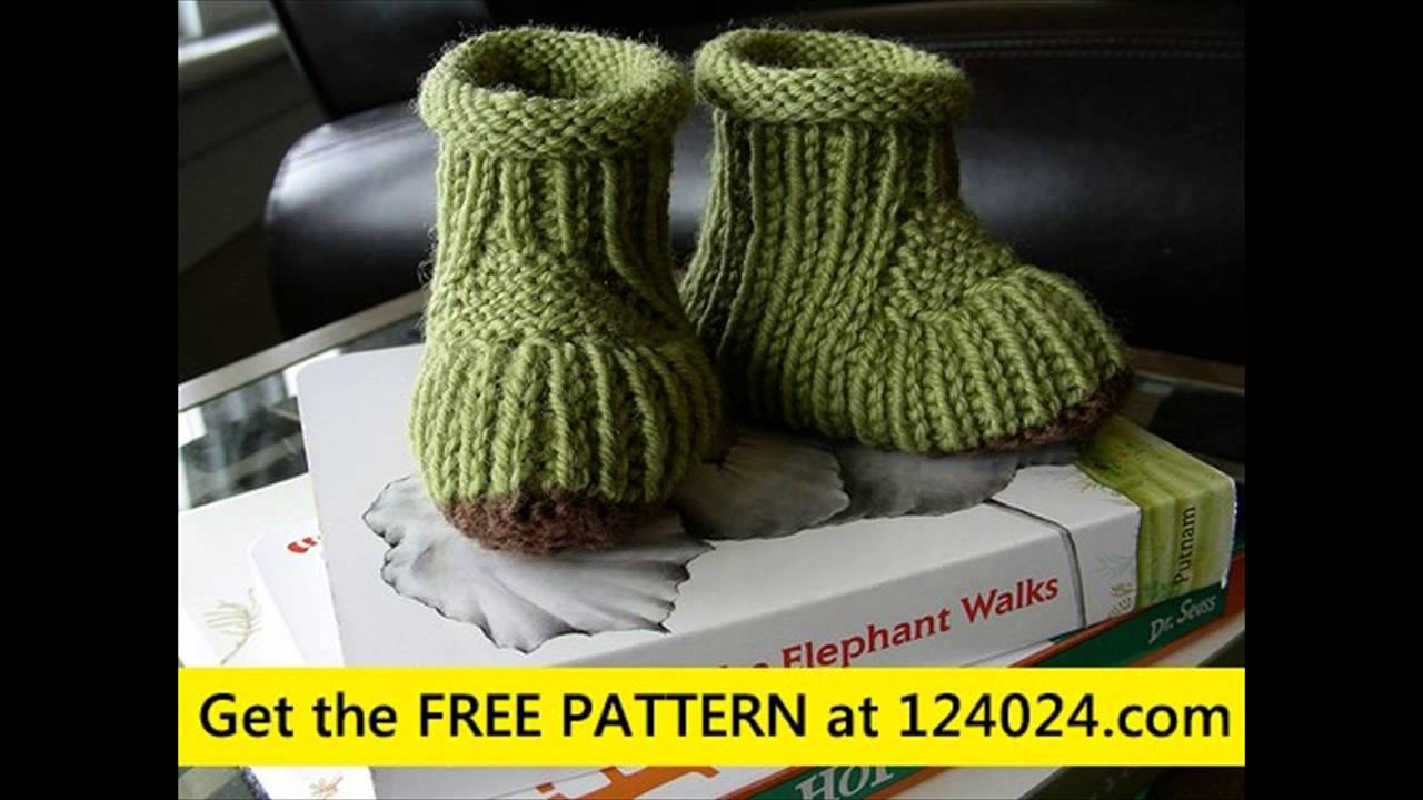 white knit boots loom knit baby booties knit boot cuff pattern free ...