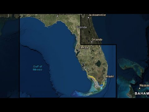 Hurricane Irma poised to hit Florida: hurricane warnings and storm surge watches in effect
