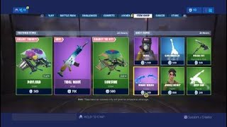 FORTNITE *NEW* TIDAL WAVE WRAP + REBEL & SUPERSONIC SKINS!