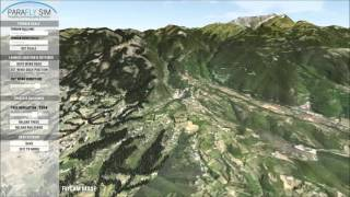 Scene Editor - First Look for paraflysim 3D paragliding simulator