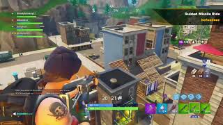 Fortnite Throwback: Guided Missile Rocket Ride