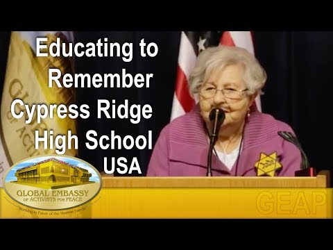Educating to Remember, Cypress Ridge High School - USA I GEAP