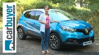 Renault Captur SUV 2013 review CarBuyer
