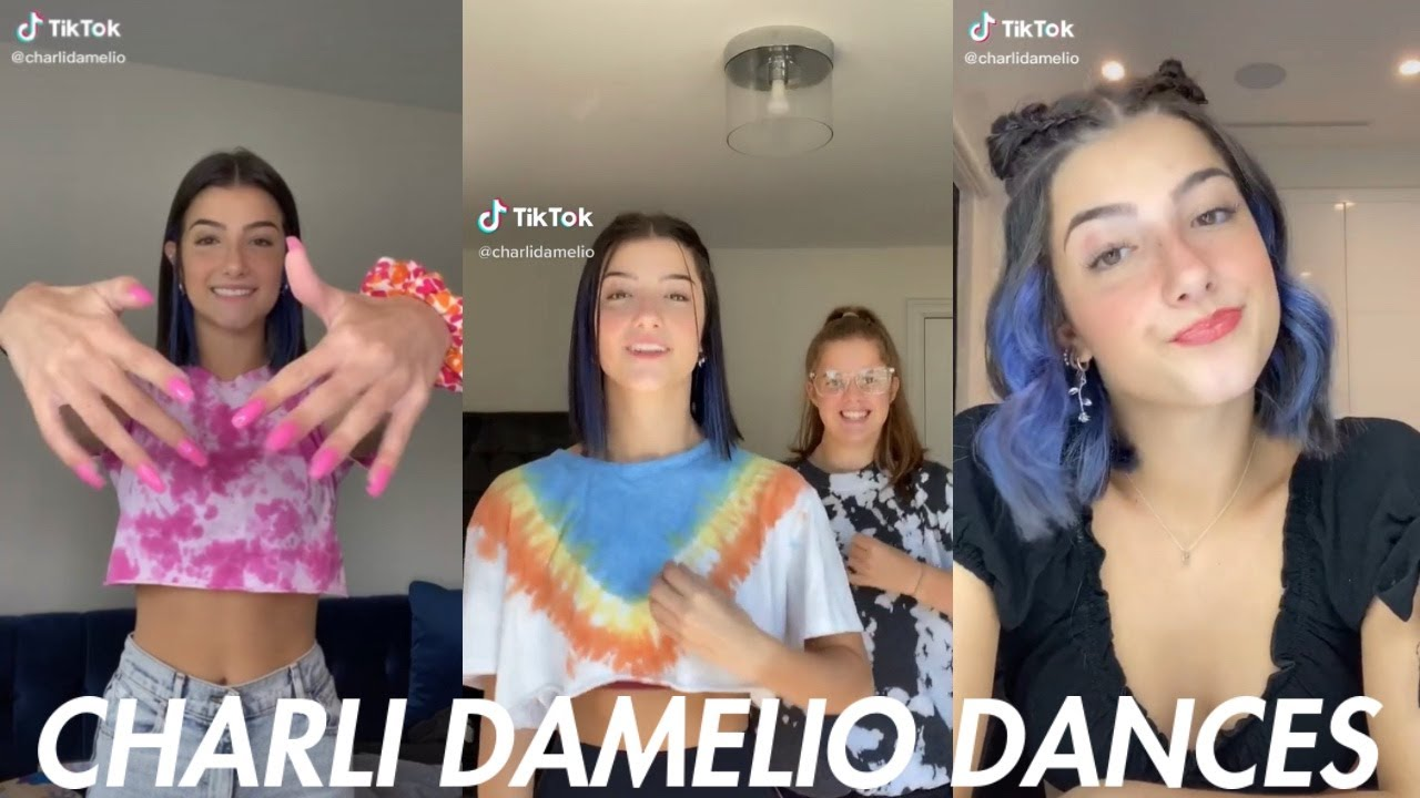The Ultimate Charli D'Amelio Tik Tok Dance Compilation Of August 2020