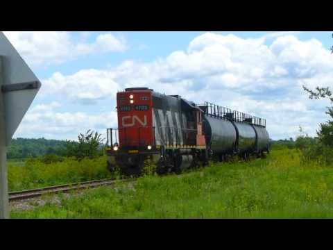 Once a week freight train between Ottawa and Arnprior, CN Rail