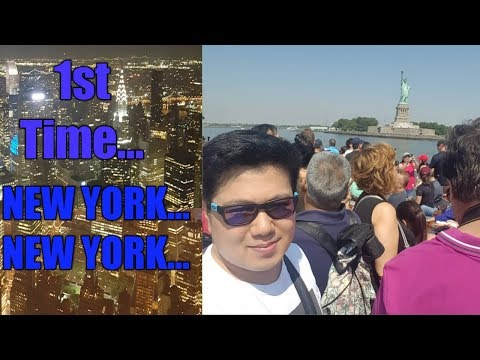 First time in USA(United States of America) - NEW YORK - DAY 1 and 2