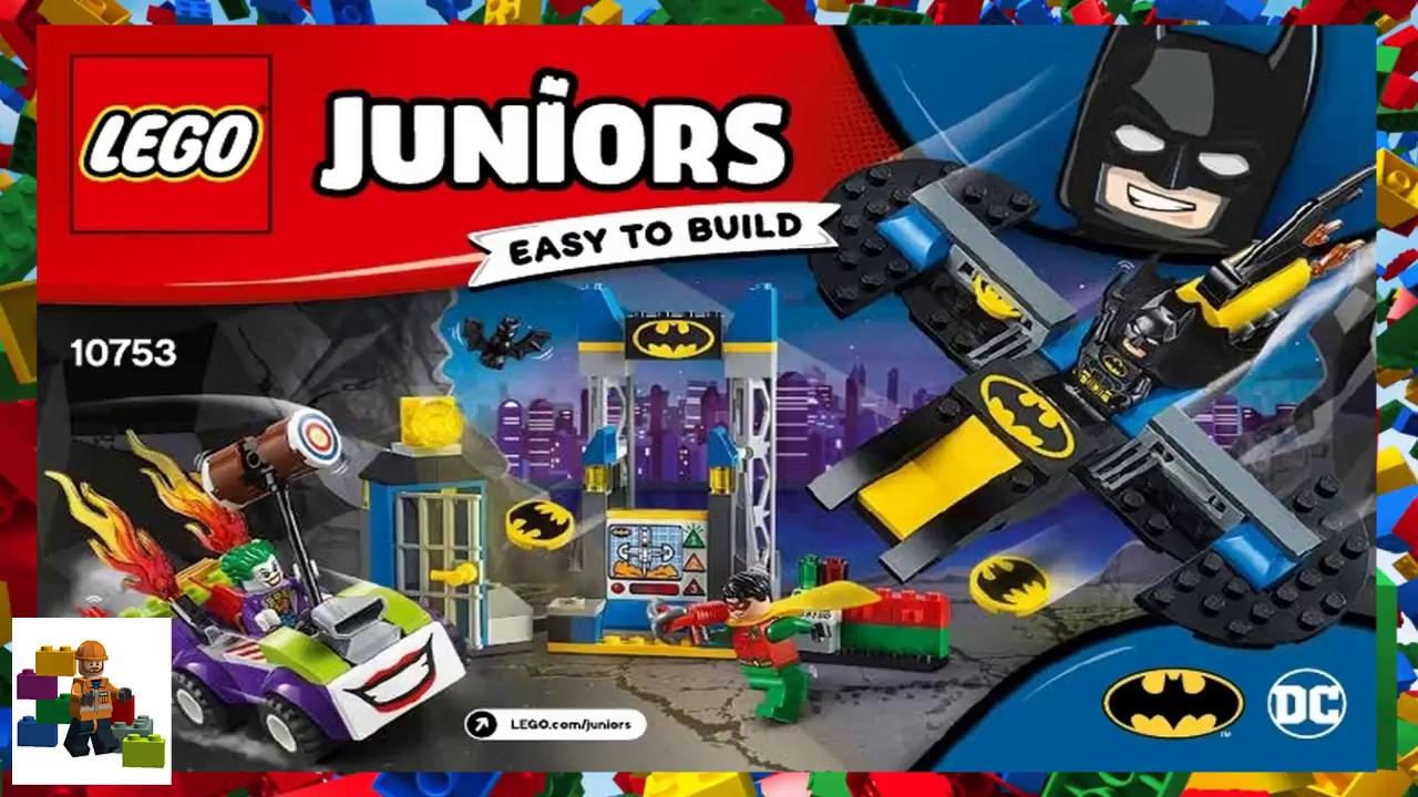 Lego Instructions Juniors 10753 The Joker Batcave Attack Youtube