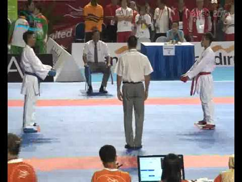 KARATE PUTRA-DONNY DARMAWAN-SEA GAMES 2011.flv