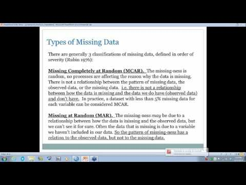 Multiple Imputation: A Righteous Approach to Handling Missing Data