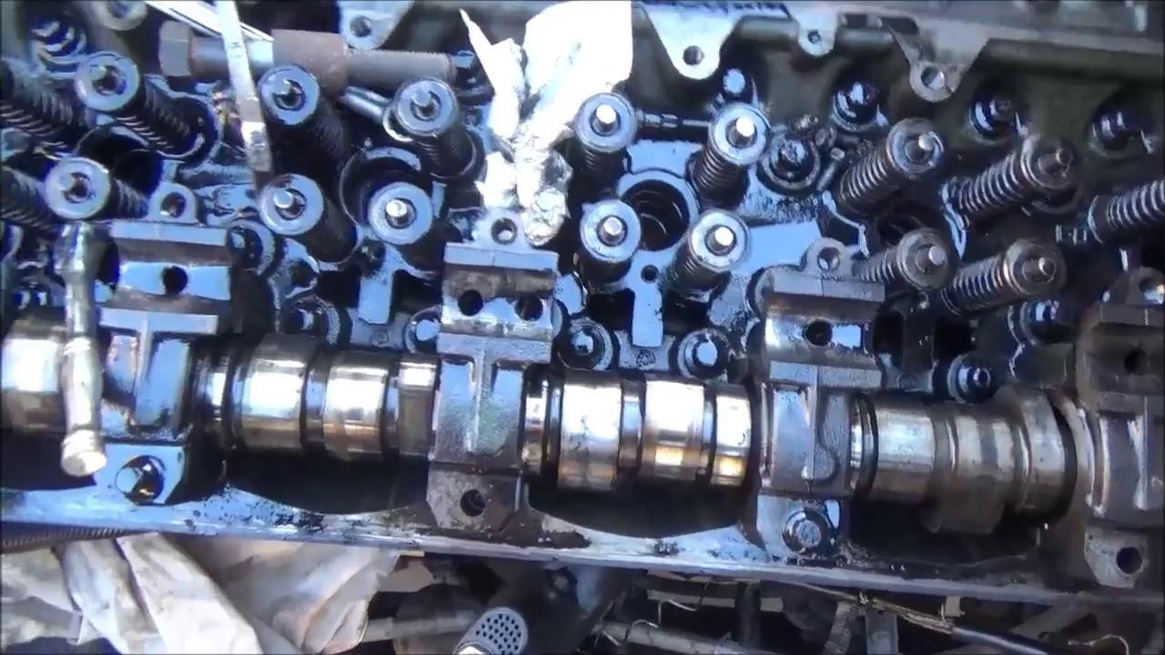 Detroit 60 Series >> Detroit Series 60 In Frame Rebuild Part 4 Camshaft Removal