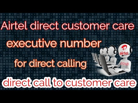 Direct call to Airtel customer care number||airtel direct customer care  number for direct call
