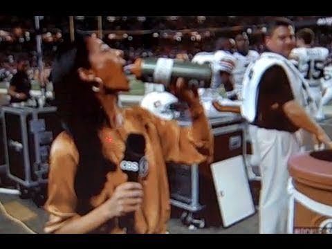 What Is Cammy Cam Juice? (CBS Tracy Wolfson drinks Cam Newton