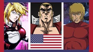 TOP 10 American Anime Characters