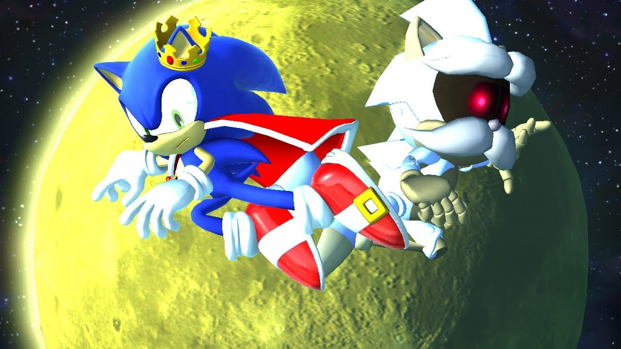 Sonic Forces King Sonic Vs Roboticized Uncle Chuck Youtube