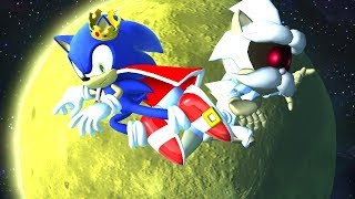 Sonic Forces: King Sonic vs Roboticized Uncle Chuck