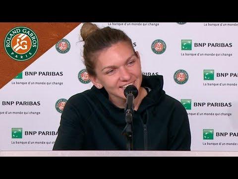 Simona Halep - Press Conference after Round 2 I Roland-Garros 2018