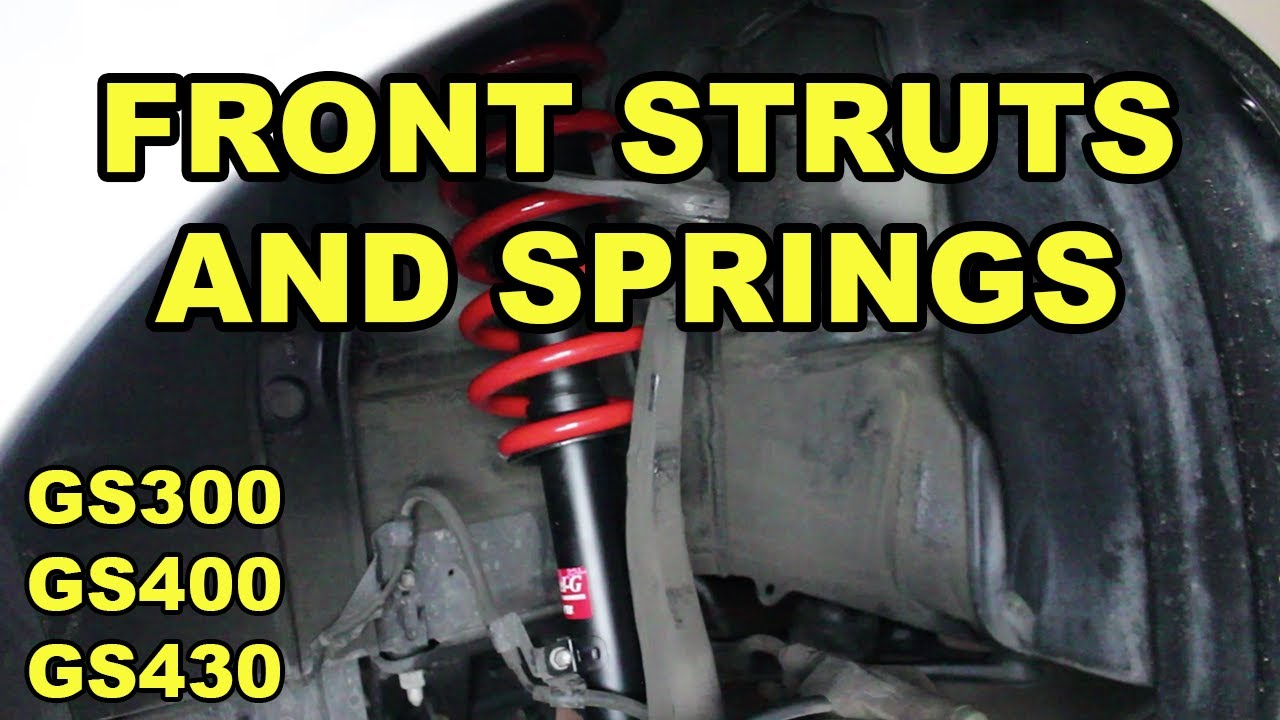 1998-2005 Lexus GS Front Strut and Spring Replacement