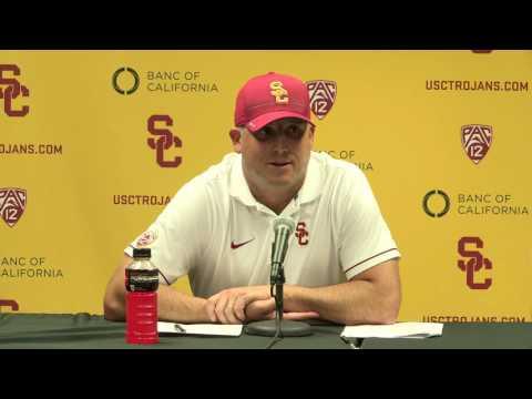 USC Football - Post Game Presser Colorado