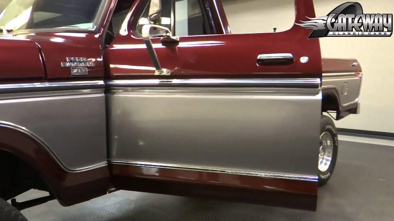 1978 ford f250 4x4 stock 5748 gateway classic cars st louis [ 1280 x 720 Pixel ]